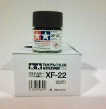 Tamiya acrylic paint XF-22 RLM Grey. 10ml Mini.