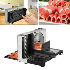 1-15MM Electric Meat Slicer Electric Food Cutter Bread Compact Size Home Use