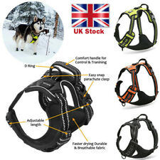 More details for outdoor no-pull dog pet harness reflective adjustable pet vest padded handle