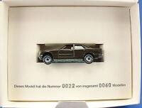 SIKU 1054 - Mercedes 190 E - WEGMAN PROPAK - Werbemodell in Werbebox Modellauto