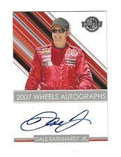 2007 Wheels AUTOGRAPHS Dale Earnhardt Jr. BV$100! SUPER SCARCE!
