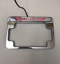 Harley-Davidson  License Plate Frame Holder Heritage HD Softail