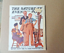 Saturday Evening Post Magazine September 18 1937 Complete