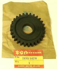 SUZUKI RM500 D/E/F 1983-1985, NEW ORIGINAL GEAR, 1ST DRIVEN (NT:28)  24311-14230