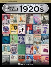 Songs of the 1920s The New Decade Series Sheet Music E-Z Play Today 000159568