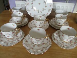 Garden House Tea set  Bone China England