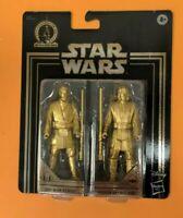 Star Wars Commemorative Edition Gold Obi-Wan Kenobi & Anakin Skywalker Figures