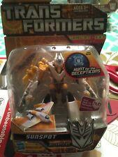 Transformers Hunt For The Decepticons Scout Class Sunspot MISB 2010 Hasbro