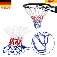 Qualität Basketball netz rot/weiss/blau basketballnetz 45 cm 12 Schlaufen NW DA