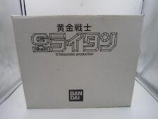 Anime Golden Warrior Gold Lightan Figure Chogokin Figure Display Box Bandai