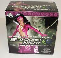 Blackest Night Violet Lantern Star Sapphire Bust #1097/3500 DC Direct 2011 NIB
