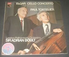 Elgar Cello concerto Introduction Serenade  Tortelier Boult EMI ASD 2906 LP EX