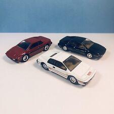Lotus Esprit S1, Black/Red/White Johnny Lightning Diecast 1/64