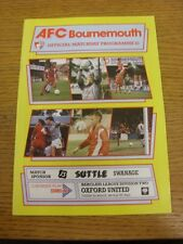 06/03/1990 Bournemouth v Oxford United  . Thanks for viewing this item, buy in c