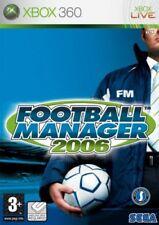 Sega Football Manager 2006 Xbox 360
