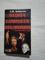 Storia Completa Del Mondo Dalla Preistoria A Oggi - J.M. Roberts - Libro Piemme