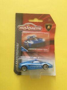 1:64 Majorette Lamborghini Gallardo Polizia (Police), Lamborghini Series #5/6.