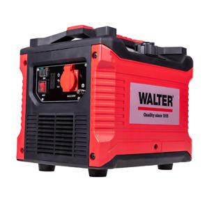 WALTER Inverter Stromerzeuger 1000W, Notstromagreggat Benzin Generator, 4 Takt