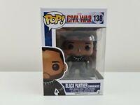 CIVIL WAR BLACK PANTHER Unmasked #138 POP VINYL