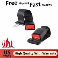 "2Pack Universal Car Seat 14"" Seatbelt Safety Extender Belt Extension 7/8"" Buckle"