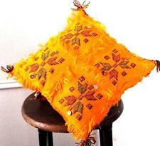 "18""x18""Moroccan Kilim Pillow Cushion Cover,Handmade,handwoven by Berber women"