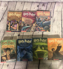 HARRY POTTER COMPLETE SET. BOOKS 1-7 paperback. FREE SHIPPING  B-1 #415