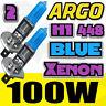 H1 halógena SUPER Azul 100w BOMBILLAS FARO ANTINIEBLA DELANTERO 12v