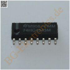 10 x MM74HC4543M BCD-to-7 Segment Latch/Decoder/Driver For Liq NS SO-16 10pcs