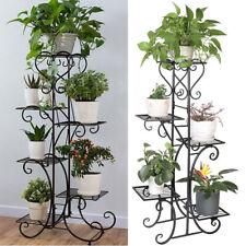 Extra Large Indoor Metal Plant Stand Shelf Anti Rust Iron Garden Flower Rack USA