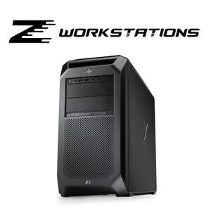 HP Z8 G4 | Dual Xeon Gold 6226R 32C 2.9GHz, 192GB RAM, Quadro RTX 6000, Flame