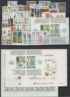 BD140854/ EUROPA CEPT 1989 ISSUES – 35 COUNTRIES COMPLETE MNH – Y&T CV 357 $