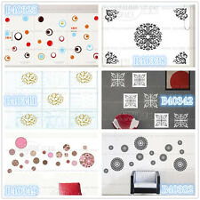Circle pattern Creative Home Room Decor Removable Wall Stickers Decal Decoration