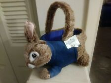 Brand New Plush Peter Rabbit Easter Basket From Dan Dee with Tag