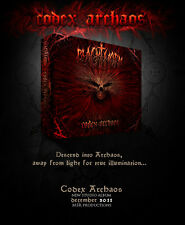"Blackthorn ""Codex Archaos"", Digibook, 20 pages, dimmu borgir, cradle of filth"