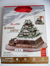 3d Puzzle Osaka Castle Cubic Fun Japon château forteresse Osaka-Jo
