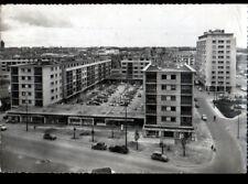 CAEN (14) CITROEN 2CV & RENAULT 4CV aux COMMERCES Cité QUARTIER QUATRANS en 1961
