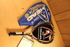 Head Ti. Fury Xl 3 5/8 grip racquetball racquet w/bag New #4479