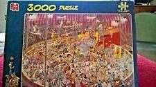 """JAN VAN HAASTEREN """" THE CIRCUS """"  3000 PIECE  PUZZLE"""
