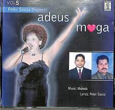 Adeus Moga - Konkani Goa Goan Music CD - Featuring Lorna Compact Disk
