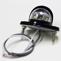 White Bright Light License Number Plate Light 6 LED Metal Iron for Trailer Truck