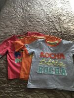 Boys Bundle Of T-shirts, Rocha Little Rocha Tshirt, Age 2-3 Years.
