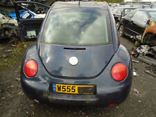 VW BEETLE MK2 2.0 PETROL 2001 REAR BARE TAILGATE WITH GLASS LG5T