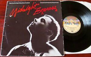 GIORGIO MORODER MIDNIGHT EXPRESS OST LP CASABLANCA 1978 EX- UK DISCO ELECTRONICA