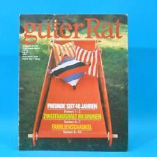 Guter Rat 2-1985 Verlag für die Frau DDR Sossen Stereo-Steuergerät Haarpflege D