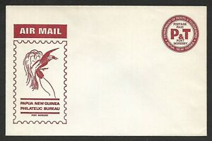 Papua New Guinea Postage Paid Air Mail Envelope