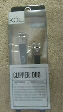 KOL Fishing Line Clipper Duo - Stainless Steel - Soft Touch