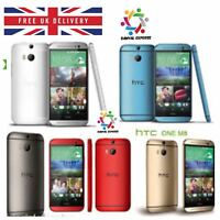 HTC One M8 32 GB Unlocked VARIOUS COLOUR SMARTPHONE + 6 MONTHS WARRANTY