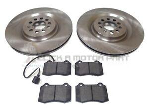 SEAT LEON CUPRA R 1.8T 210 225 2002-2005 FRONT 2 BRAKE DISCS & PADS SET (323mm)