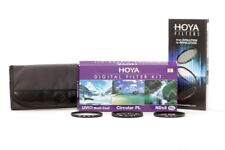 Hoya digital filtro kit II polarizador 52mm + ND-filtro + UV-filtro Filtro + bolsa