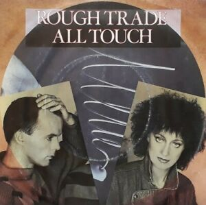 """Rough Trade-All Touch/Kiss Me Deadly Promo 7"""" Single.1983 CBS A3331.New Wave."""